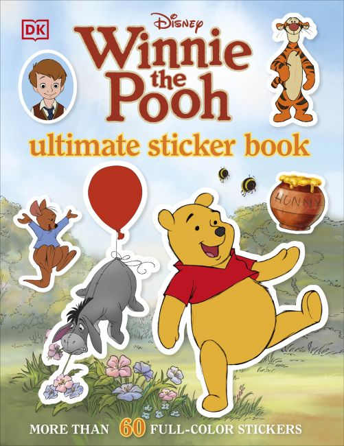 Paperback cover of Ultimate Sticker Book: Winnie the Pooh