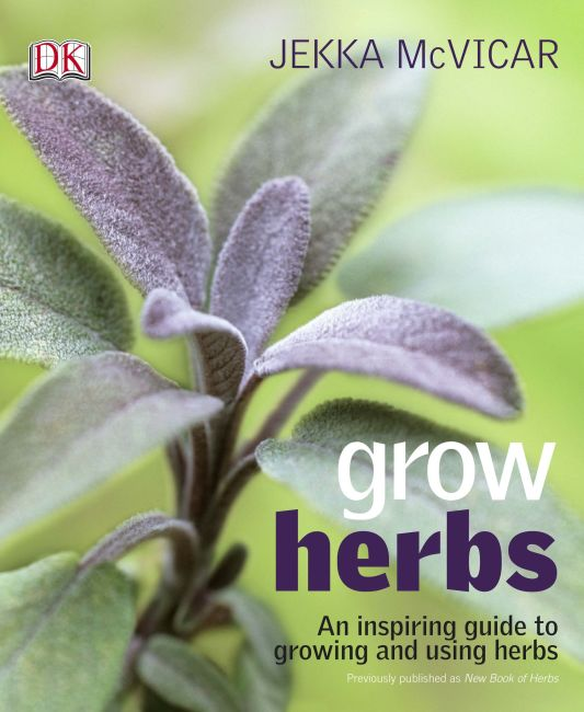 eBook cover of Grow Herbs