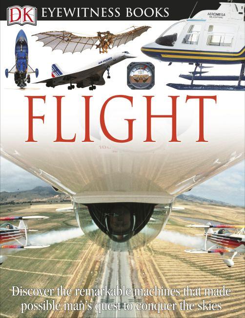 Hardback cover of DK Eyewitness Books: Flight