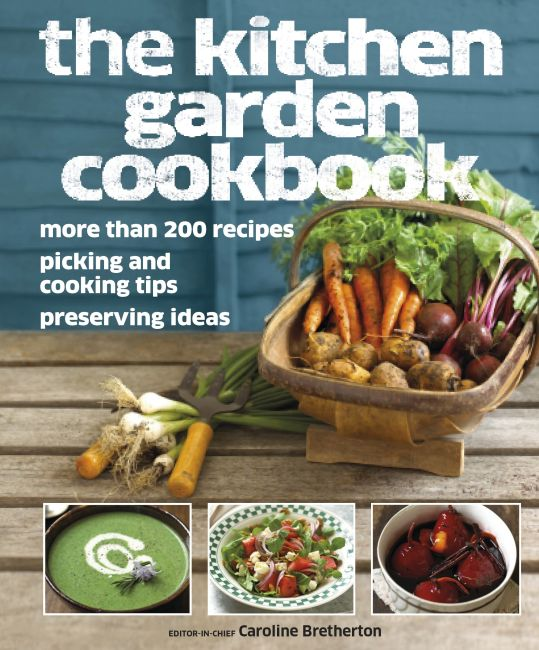 eBook cover of The Kitchen Garden Cookbook