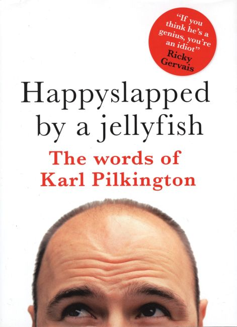 eBook cover of Happyslapped by a Jellyfish