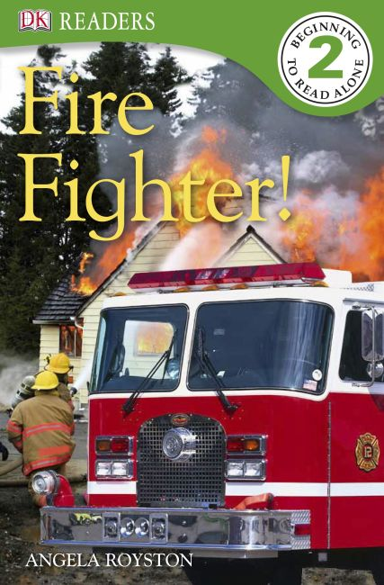 Paperback cover of DK Readers L2: Fire Fighter!
