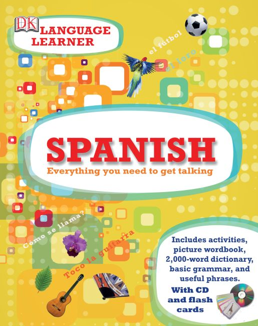 Hardback cover of Spanish Language Learner