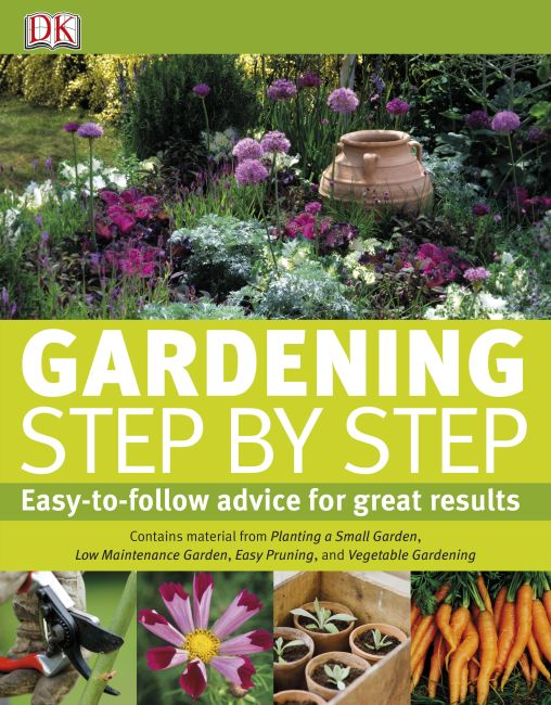 eBook cover of Gardening Step by Step