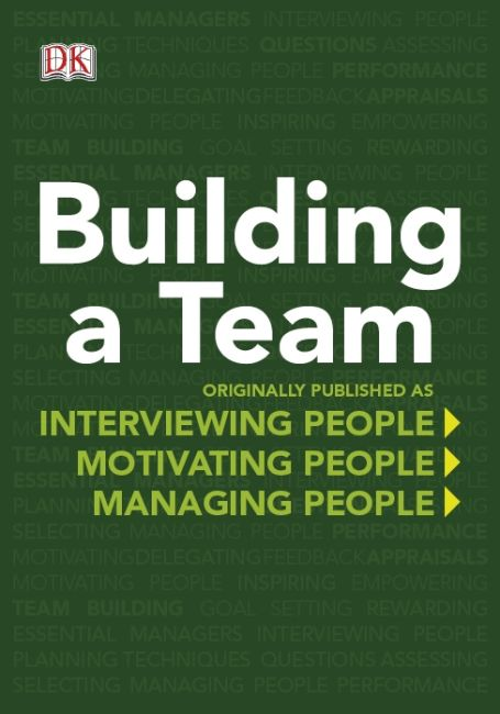 eBook cover of DK Essential Managers: Building a Team