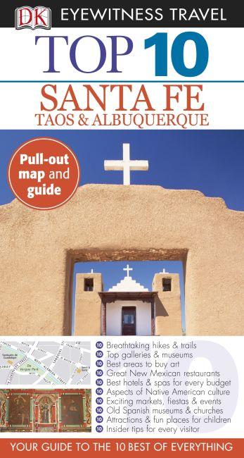 Paperback cover of DK Eyewitness Top 10 Santa Fe