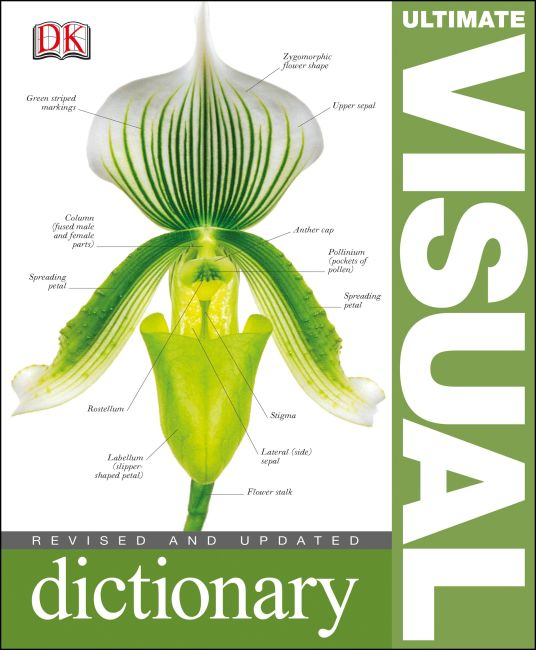 Hardback cover of Ultimate Visual Dictionary
