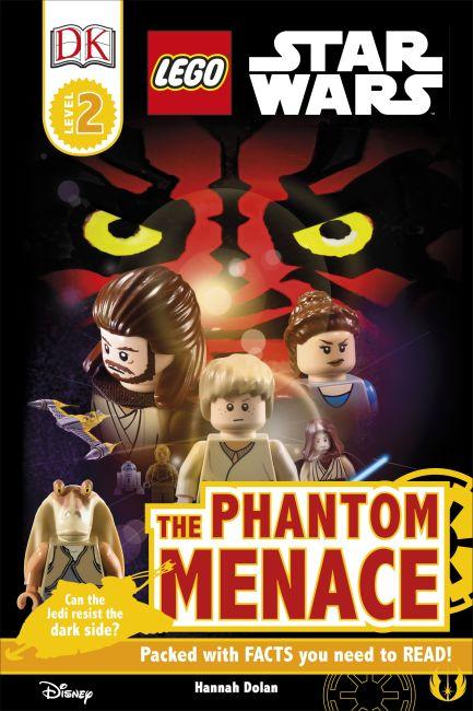 Hardback cover of DK Readers L2: LEGO Star Wars: The Phantom Menace