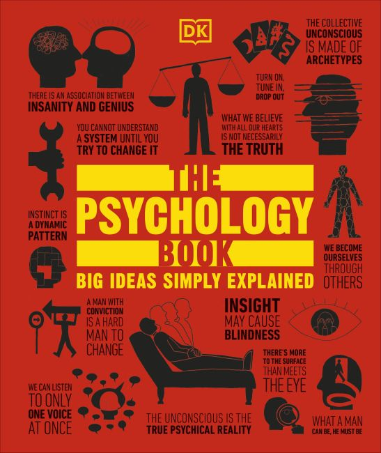 Hardback cover of The Psychology Book