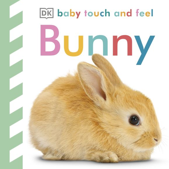 Board book cover of Baby Touch and Feel: Bunny