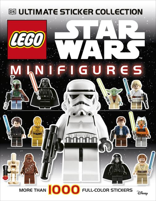 Paperback cover of Ultimate Sticker Collection: LEGO® Star Wars: Minifigures