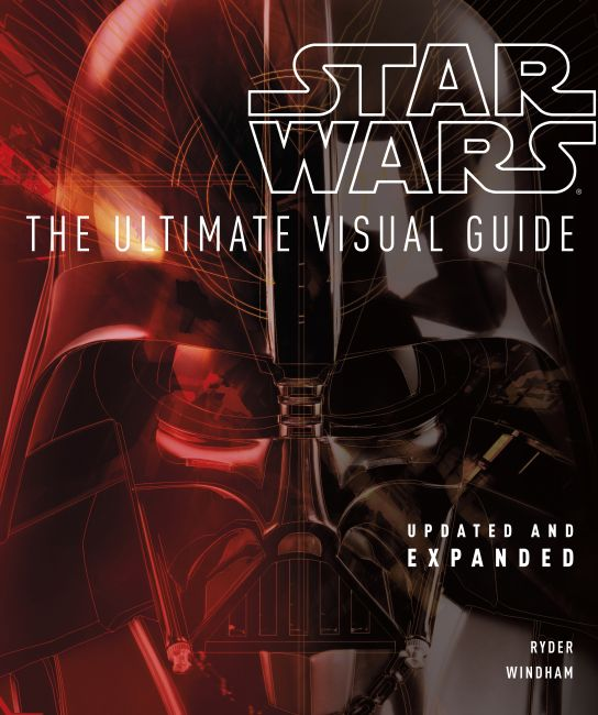 Hardback cover of Star Wars: The Ultimate Visual Guide
