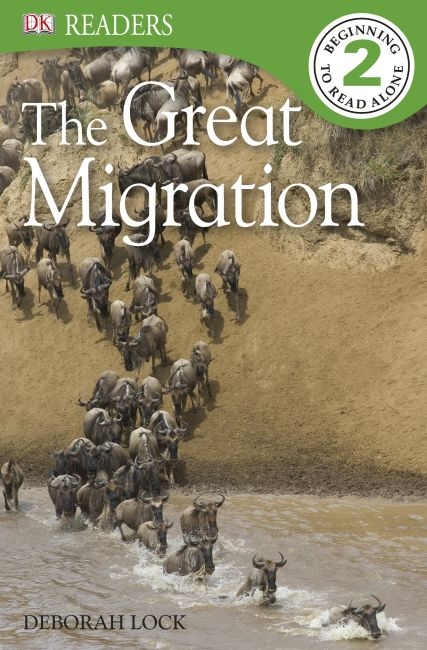 Paperback cover of DK Readers L2: The Great Migration