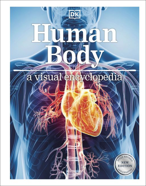 Hardback cover of Human Body: A Visual Encyclopedia