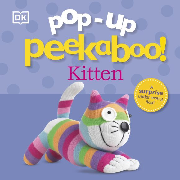 Board book cover of Pop-Up Peekaboo! Kitten