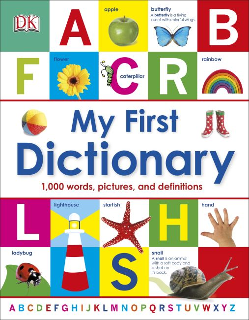 Hardback cover of My First Dictionary