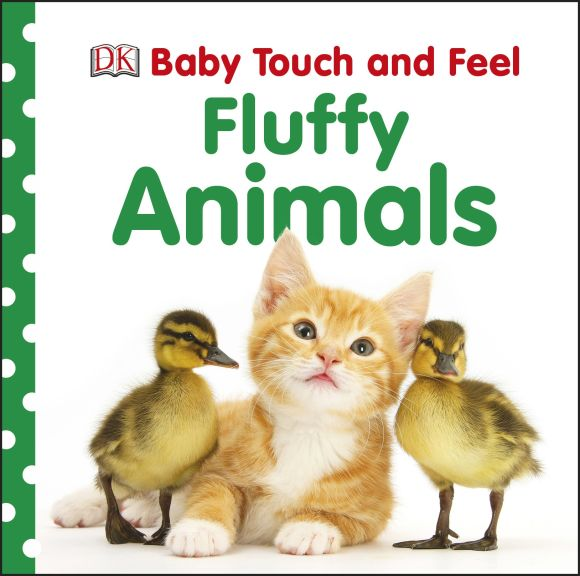 Board book cover of Baby Touch and Feel: Fluffy Animals