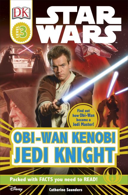 Paperback cover of DK Readers L3: Star Wars: Obi-Wan Kenobi, Jedi Knight