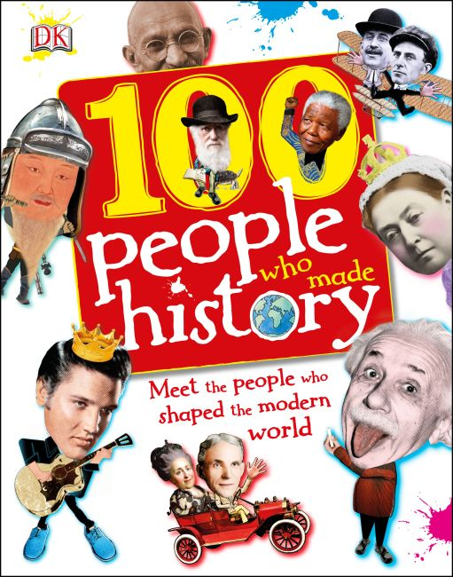 eBook cover of 100 People Who Made History