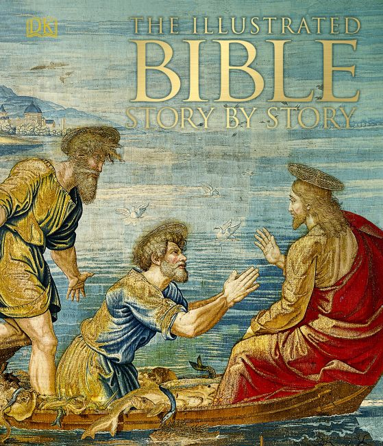 eBook cover of The Illustrated Bible Story by Story