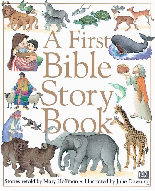 Hardback cover of A First Bible Story Book