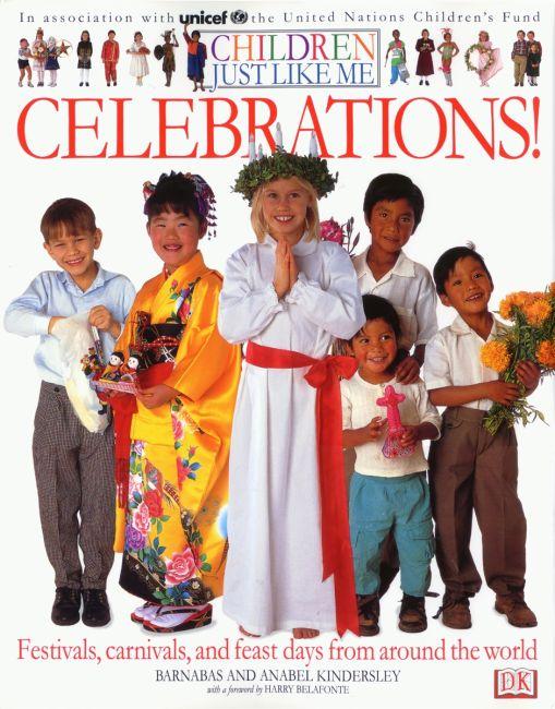 Hardback cover of Children Just Like Me: Celebrations!
