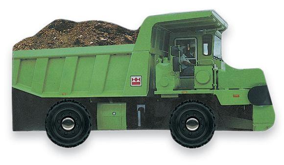 Board book cover of Dump Truck