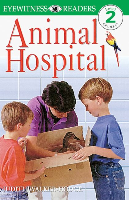 Paperback cover of DK Readers L2: Animal Hospital