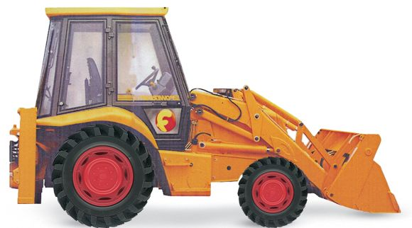 Board book cover of Digger