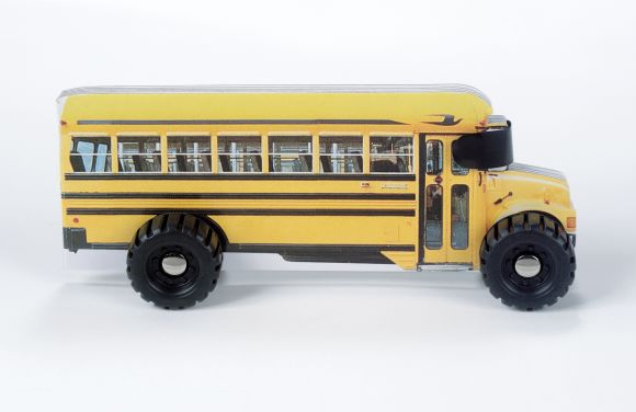Board book cover of Bus