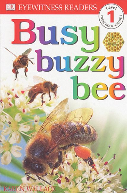 Paperback cover of DK Readers L1: Busy Buzzy Bee