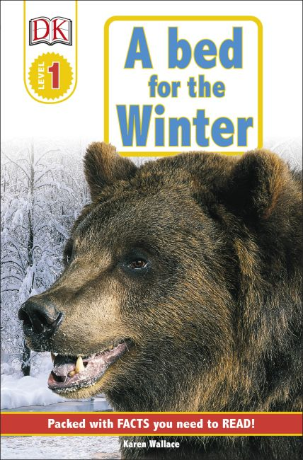 Paperback cover of DK Readers L1: A Bed for the Winter