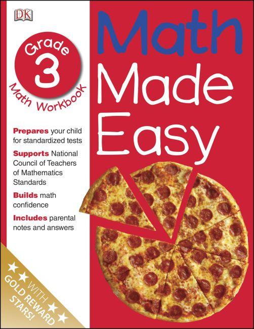 Paperback cover of Math Made Easy: Third Grade