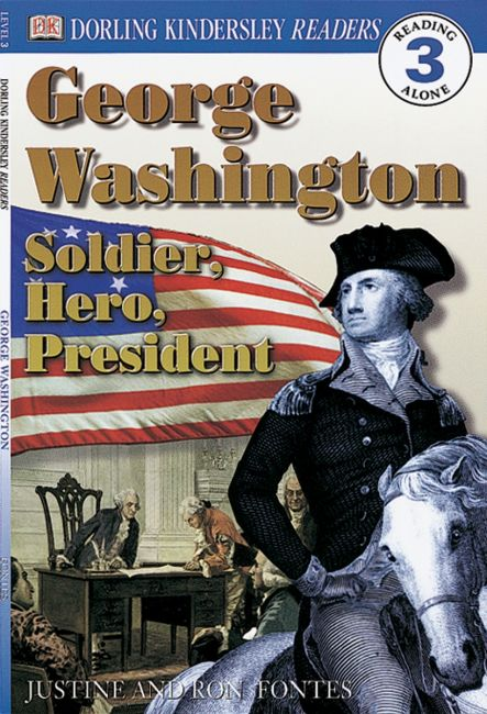 Paperback cover of DK Readers L3: George Washington