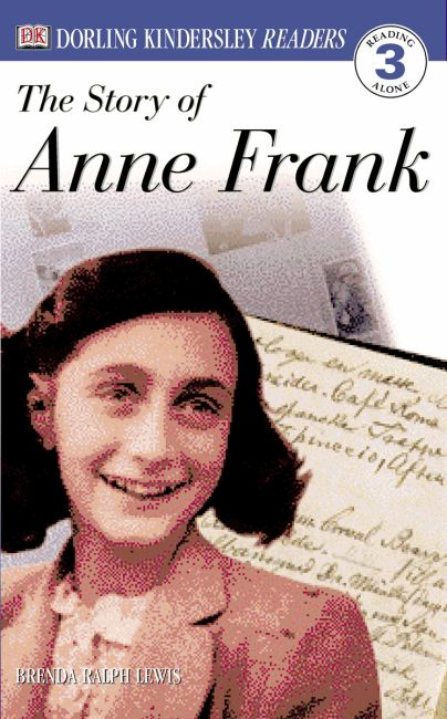 Paperback cover of DK Readers L3: The Story of Anne Frank