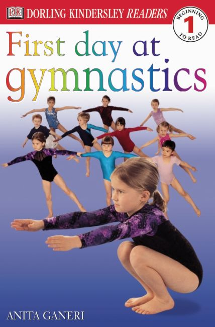 Paperback cover of DK Readers L1: First Day at Gymnastics
