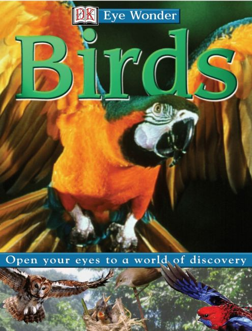 Hardback cover of Eye Wonder: Birds