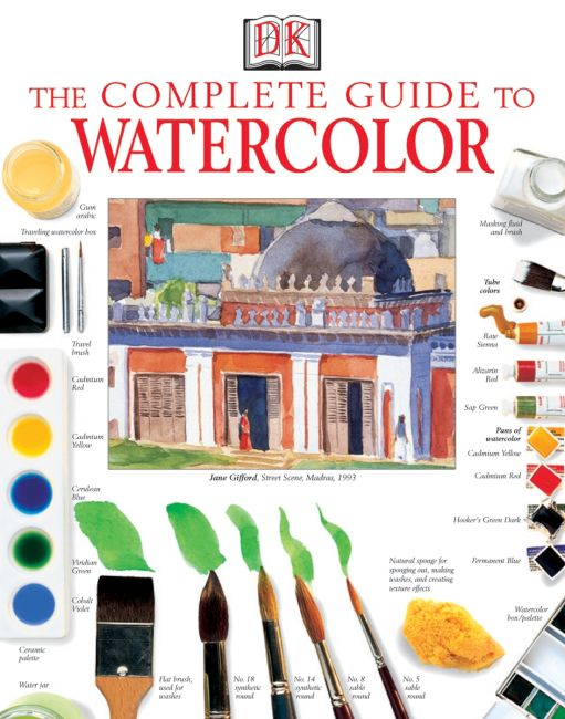 Paperback cover of The Complete Guide to Watercolor