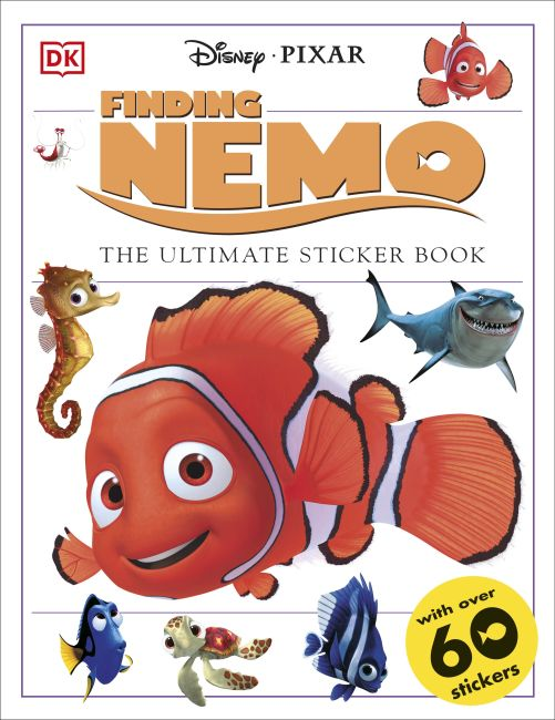 Paperback cover of Ultimate Sticker Book: Finding Nemo
