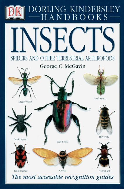 Hardback cover of Handbooks: Insects