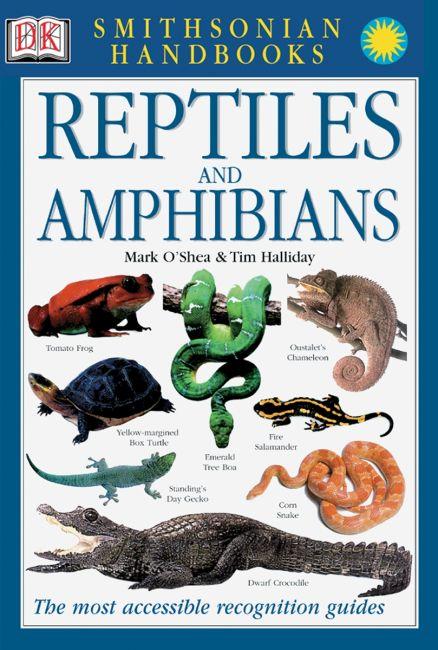 Hardback cover of Handbook: Reptiles & Amphibians