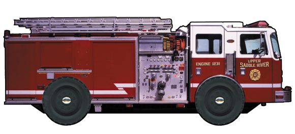 Board book cover of Fire Truck