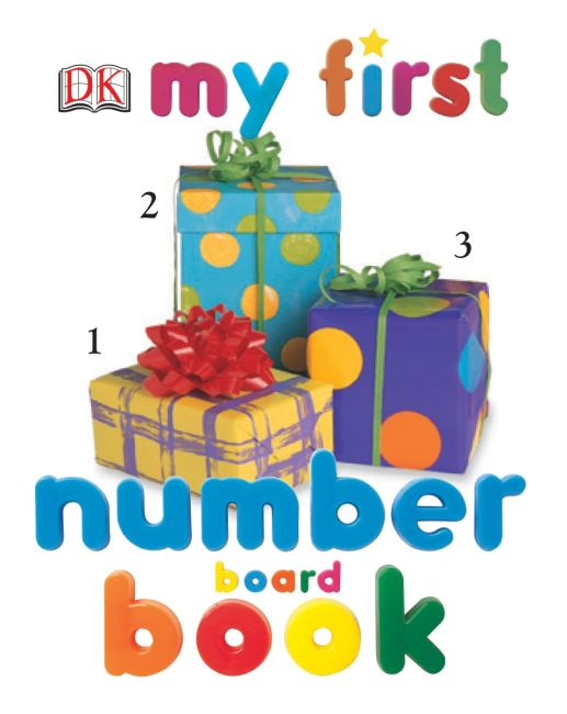 Board book cover of My First Number Board Book