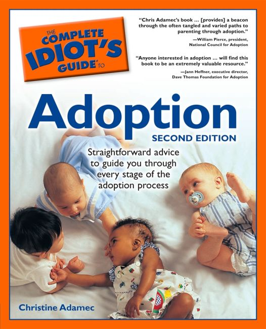eBook cover of The Complete Idiot's Guide to Adoption, 2nd Edition