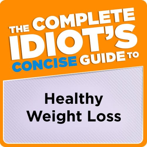 eBook cover of The Complete Idiot's Concise Guide to Healthy Weight Loss