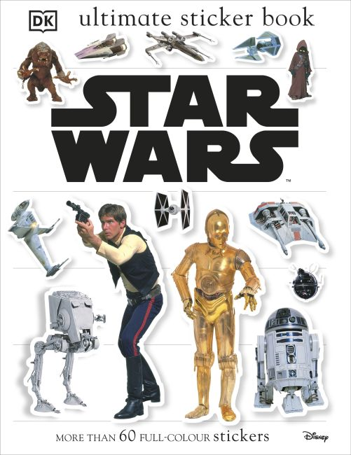 Paperback cover of Star Wars Classic Ultimate Sticker Book