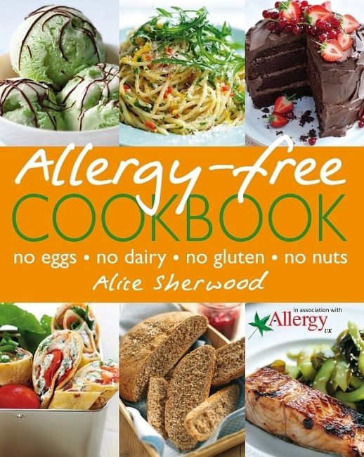 eBook cover of Allergy-Free Cookbook