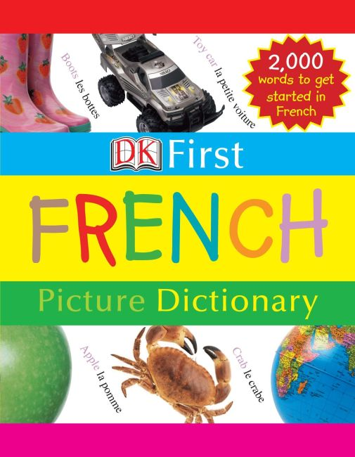eBook cover of First French Picture Dictionary