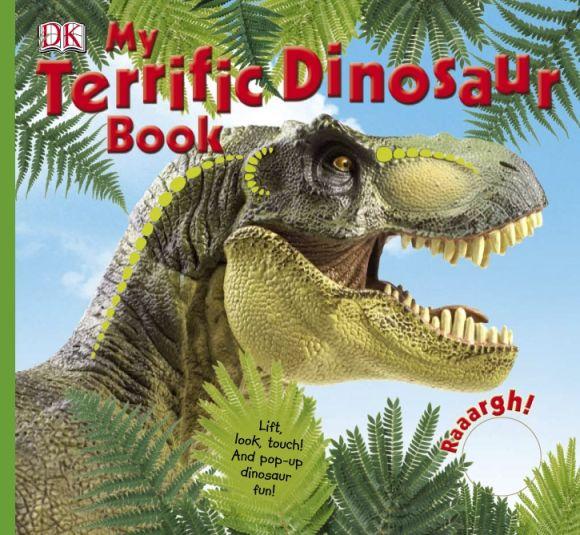 Hardback cover of My Terrific Dinosaur Book