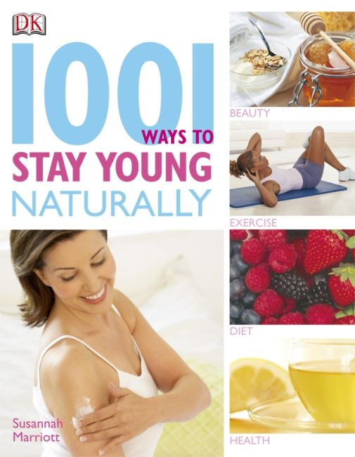 eBook cover of 1001 Ways to Stay Young Naturally